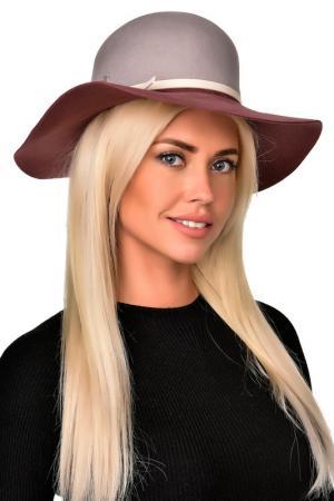 Шляпа Tonak. Цвет: серый, сливовый