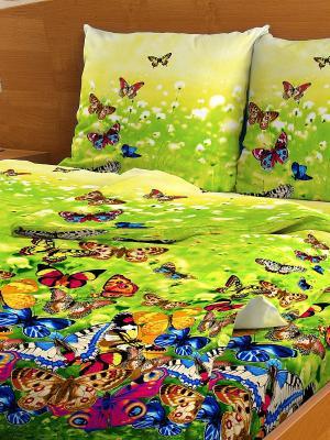 Комплект постельного белья Letto B41-6. Цвет: зеленый