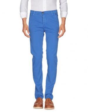 Повседневные брюки NICWAVE. Цвет: лазурный