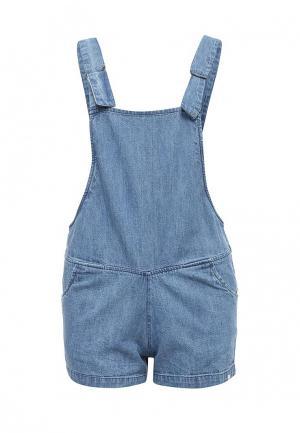 Комбинезон джинсовый Element. Цвет: голубой