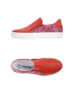 Низкие кеды и кроссовки CHANGE. Цвет: розовый
