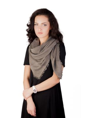 Платок Элеганс (коричневый) Le Motif Couture. Цвет: коричневый