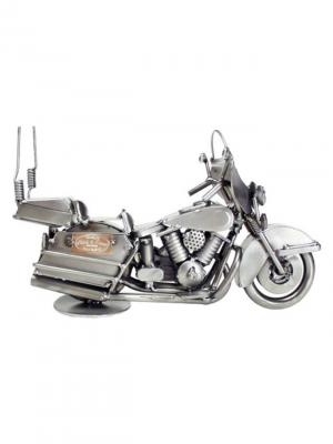 Фигурка Мотоцикл туристический Hinz&Kunst. Цвет: темно-серый