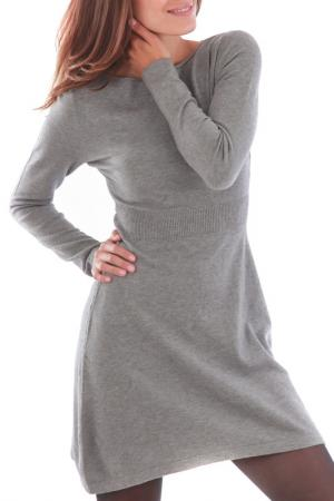 Платье CASHMERE 4 EVER. Цвет: серый