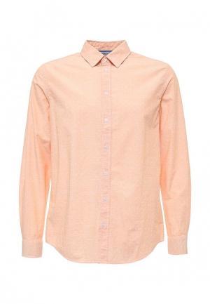 Рубашка Sela. Цвет: оранжевый