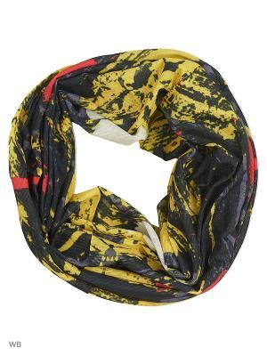 Мультишарф ARFUGIX. Цвет: желтый, черный, красный