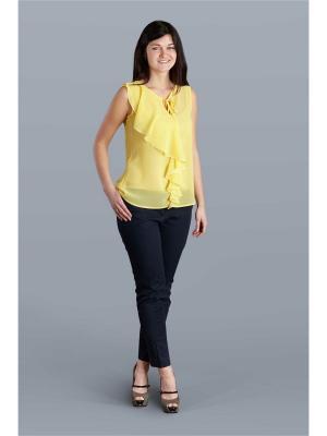 Блузка Настаси. Цвет: желтый