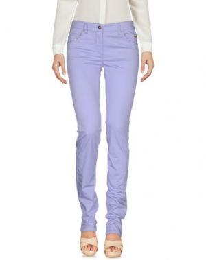Повседневные брюки PIERO GUIDI. Цвет: сиреневый