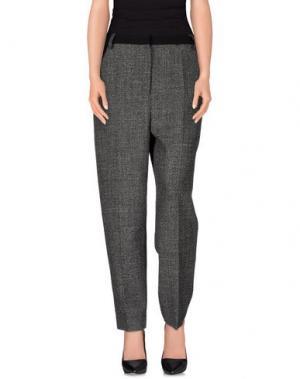 Повседневные брюки BARBARA CASASOLA. Цвет: серый