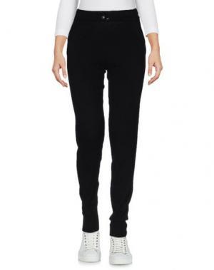 Повседневные брюки CA' VAGAN. Цвет: черный