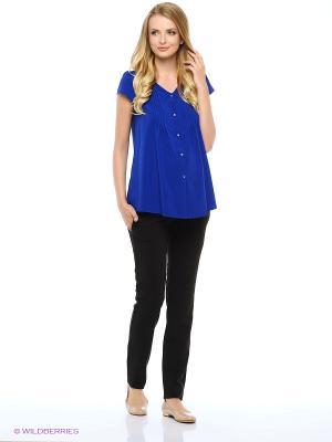 Блузка для беременных FEST. Цвет: синий