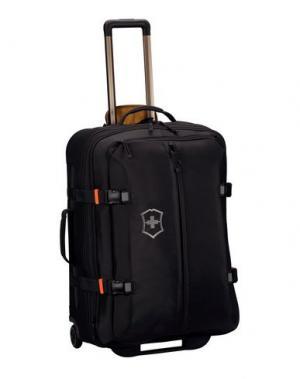 Чемодан/сумка на колесиках VICTORINOX. Цвет: черный