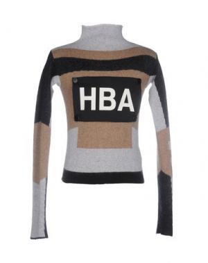 Водолазки HBA HOOD BY AIR. Цвет: светло-серый