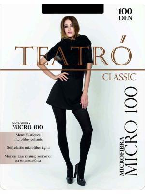 Колготки Teatro. Цвет: черный