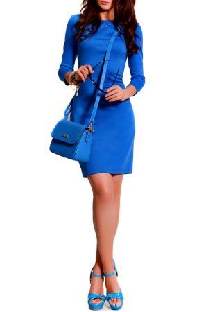 Платье FRANCESCA LUCINI. Цвет: голубой