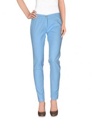 Повседневные брюки MANUEL RITZ. Цвет: небесно-голубой
