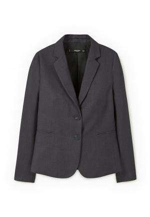 Пиджак Mango. Цвет: серый