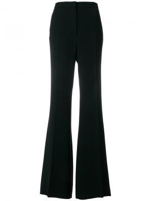 Расклешенные брюки с завышенной талией Rochas. Цвет: чёрный