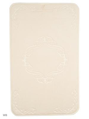 Коврик для ванной Ornament 53х86,кремовый Jardin. Цвет: кремовый