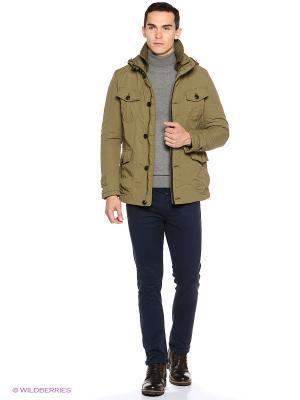 Куртка Colin's. Цвет: хаки