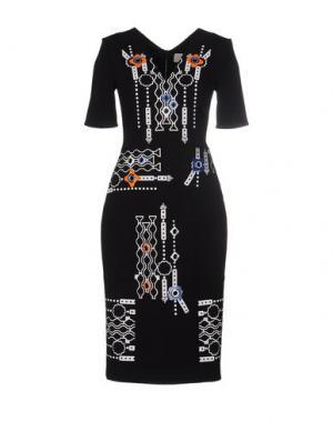 Платье до колена PETER PILOTTO. Цвет: черный