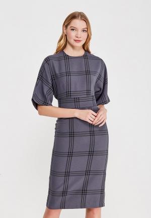 Платье Anastastia Kovall. Цвет: серый