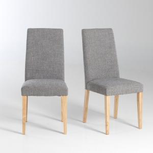 2 стула, Dilly La Redoute Interieurs. Цвет: серый меланж