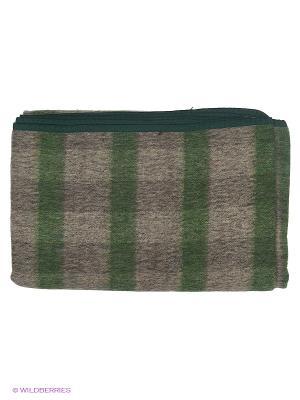 Одеяло Сукно. Цвет: зеленый, серый
