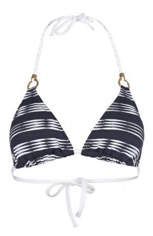 Треугольный бра в морском стиле Heidi Klein. Цвет: темно-синий