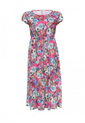 Платье Lina. Цвет: розовый