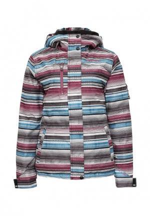 Куртка горнолыжная Animal. Цвет: разноцветный