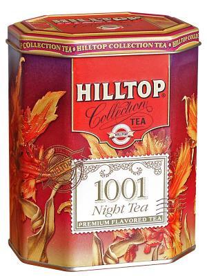 Чай Hilltop Collection  1001 Ночь в ж/б 100 гр.. Цвет: зеленый, черный