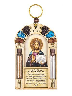 Благословение бизнеса  Иисуса Христа Holy Land Collections. Цвет: бежевый