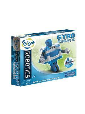 Гиро роботы/GYRO ROBOTS Gigo. Цвет: синий, голубой, серый