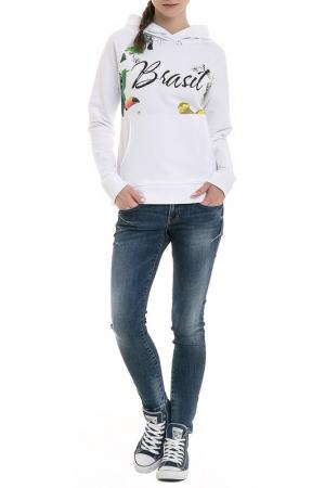 Sweatshirt BIG STAR. Цвет: white