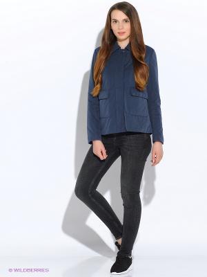 Куртка GEOX. Цвет: голубой