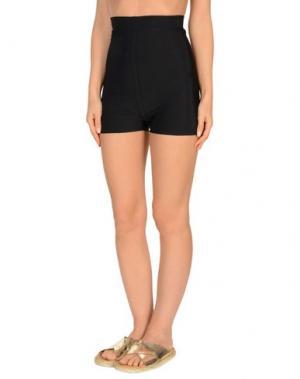 Пляжные брюки и шорты RICK OWENS. Цвет: черный