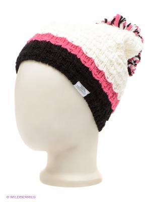 Шапка Trespass. Цвет: белый, розовый, черный