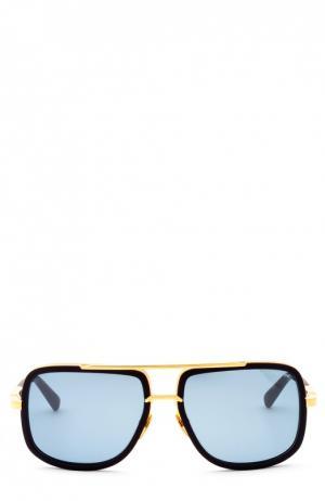 Солнцезащитные очки Dita. Цвет: синий