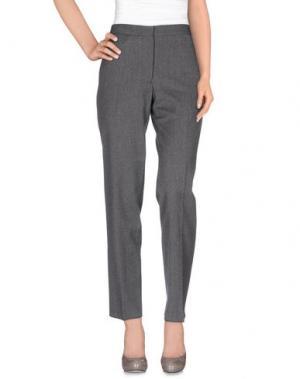 Повседневные брюки FABIO QUARANTA. Цвет: серый