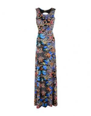 Длинное платье MISS BIKINI. Цвет: синий