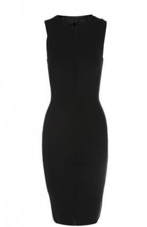 Вязаное платье Alexander Wang. Цвет: черный