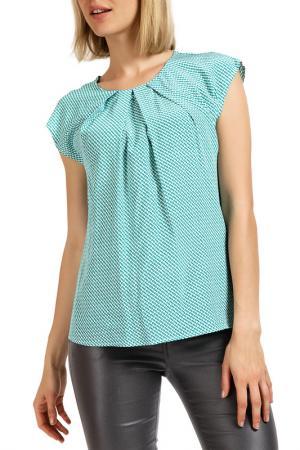 Блуза Apanage. Цвет: grun print