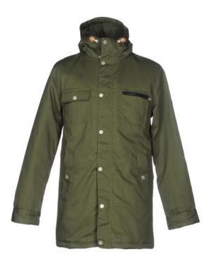 Куртка ENCORE. Цвет: зеленый-милитари