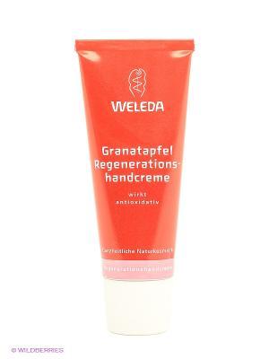 Восстанавливающий крем для рук, 50 мл Weleda. Цвет: красный