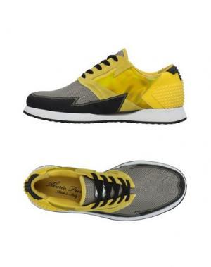 Низкие кеды и кроссовки ALBERTO PREMI. Цвет: желтый