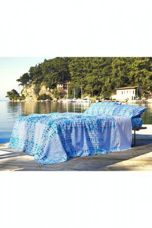 Комплект постельного белья Marie claire. Цвет: синий