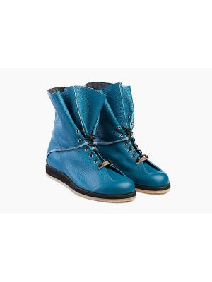 Ботинки Notmysize. Цвет: синий