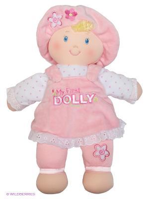 Игрушка мягкая My first Dolly Gund. Цвет: розовый, белый, светло-бежевый