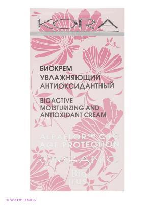 Биокрем увлажняющий антиоксидантный КОРА. Цвет: розовый